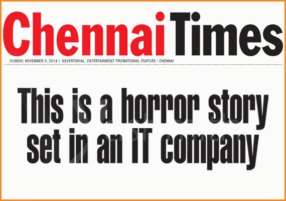 Yoogan is a horror story set in an IT company