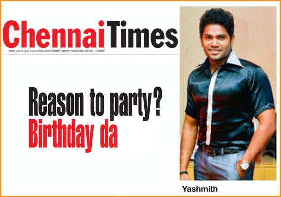 Reason to party? Birthday da